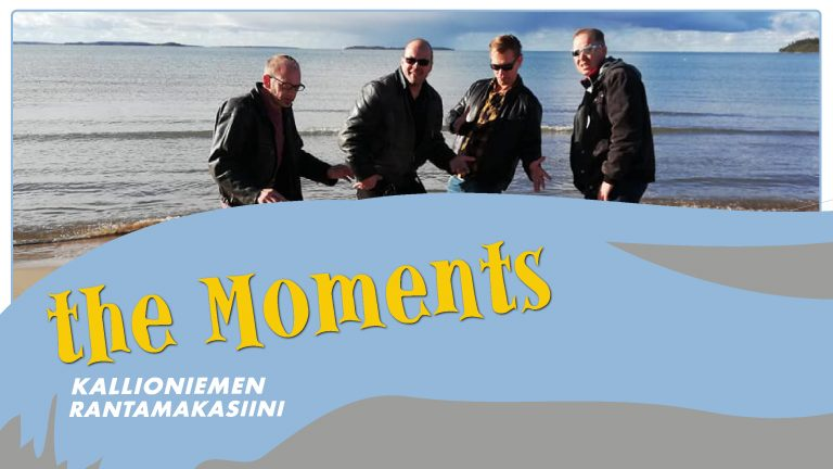 The Moments La 17.8.2019 klo 20
